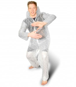 Bubble wrap costume Deal King