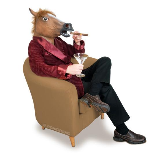 paardenkop masker dealking