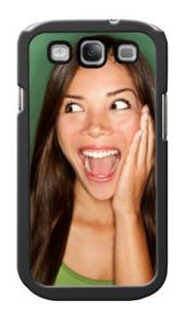 Galaxy S case met eigen foto