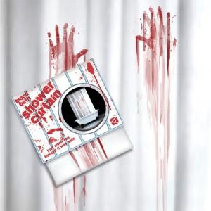 bloedbad douche gordijn