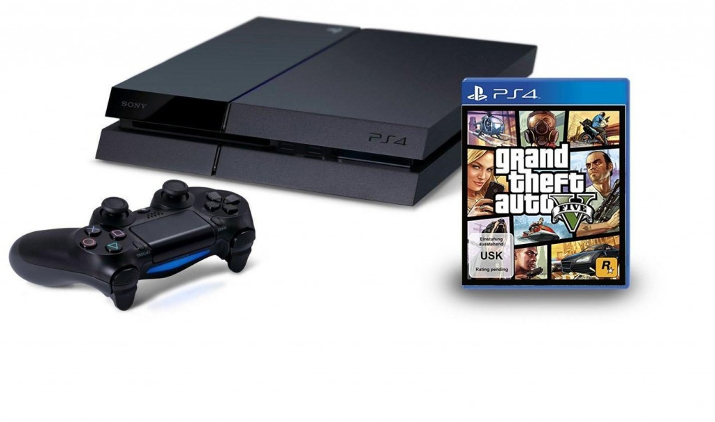 Playstation 4 incl. GTA5 1 DEAL KING