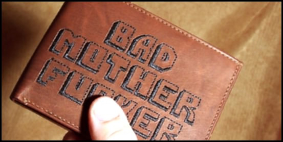 Bad Mother Fucker Wallet 2 DEAL KING